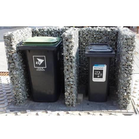 Mülltonnenbox Grundelement MB-1