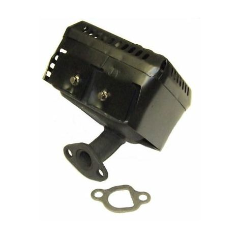 Muffler Exhaust And Gasket Compatible With Honda GX110 GX120 GX140 GX160 GX200