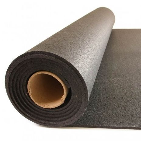 MUGAR Pavimento gymfloor Compac negro 4mm por metro lineal