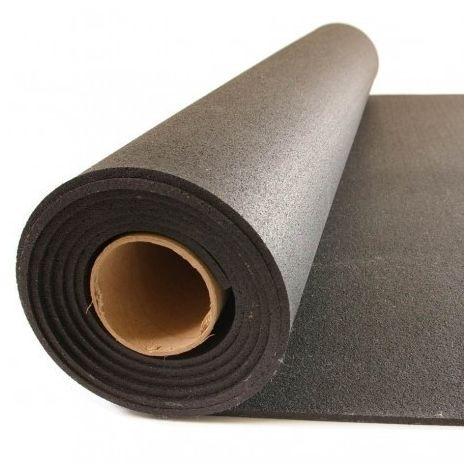 MUGAR Pavimento gymfloor Compac negro Rollos de 8mm