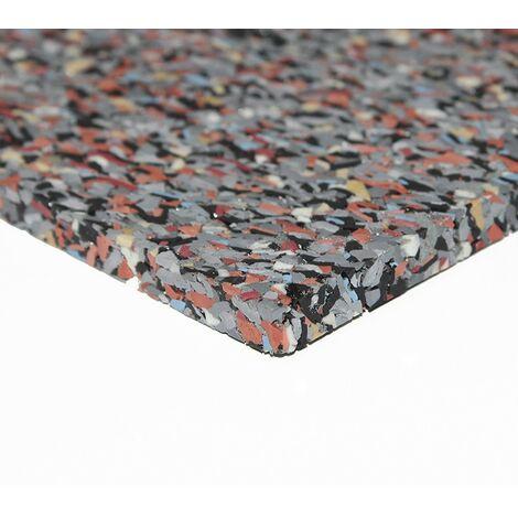 MUGAR Suelos para gimnasios caucho y epdm color gris