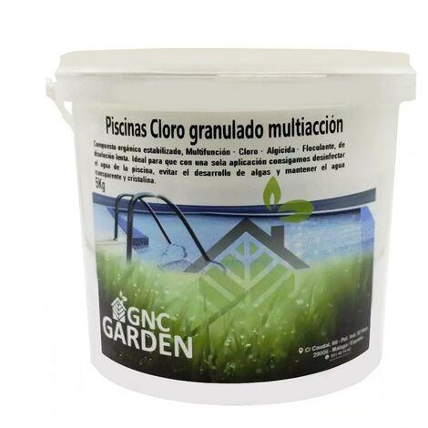 Multi-action de chlore granulé 5 kg