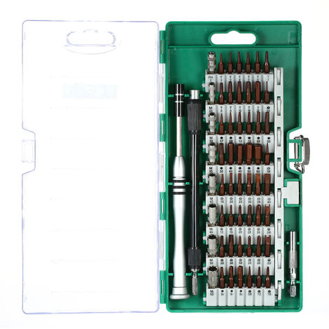 Multi-function screwdriver set Mobile computer repair tool 6100 green