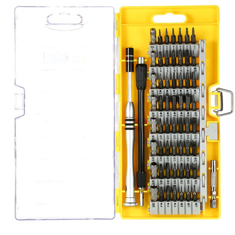 Multi-function screwdriver set mobile computer repair tool 6100 yellow