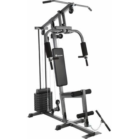 Multi gym - home gym, exercise machine, gym machine - black