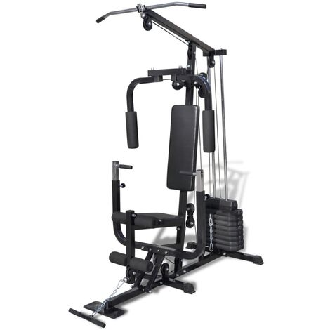"main image of ""Multi Gym Utility Fitness Machine - Black"""
