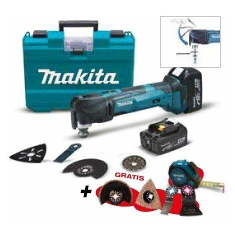 Multi-herramienta DTM51RMEX1 + Batería EXTRA MAKITA PRK00308