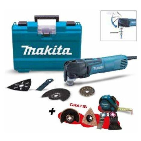 Multi-herramienta TM3010CX6 + Set de cuchillas MAKITA PRK00307