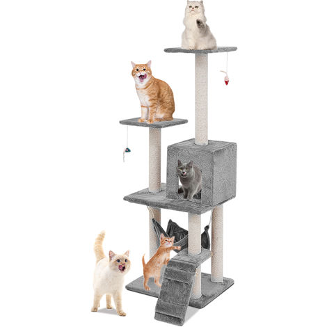 Multi-level cat tree with perches 125 CM
