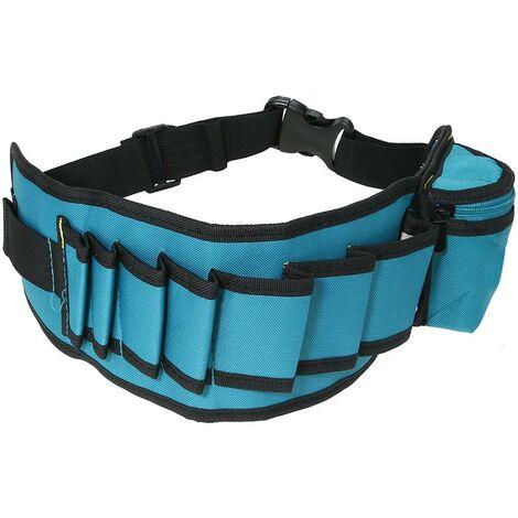 Multi-poches sac à outils taille poches électricien sac à outils organisateur pochette de transport sac à outils ceinture taille poche étui pour le stockage