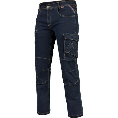 Multi Pocket Jeanshose Stretch X
