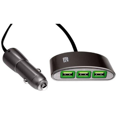 MULTI PRISE USB X 3 sur allume cigare Auto-t