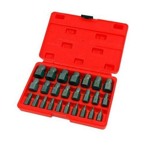 Multi-Spline Screw Extractor Set - 25pc