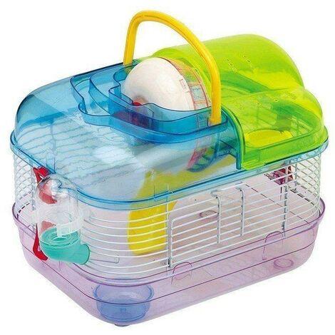 Multicolour Hamster cage