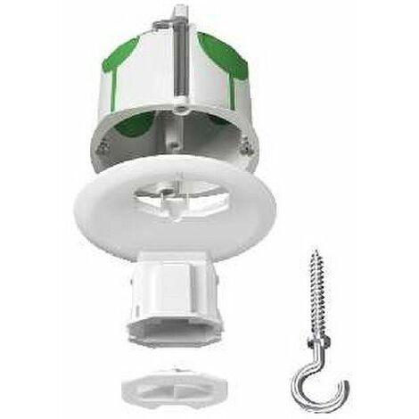 Multifix air dcl, boîte de centre avec couvercle non affleurant connexion, piton diamètre 67 mm profondeur 50 mm