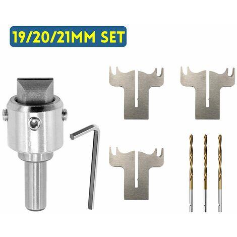 Multifonction en bois anneau foret coupeur moulin fabricant travail du bois haute vitesse (ensemble 19/20 / 21MM)