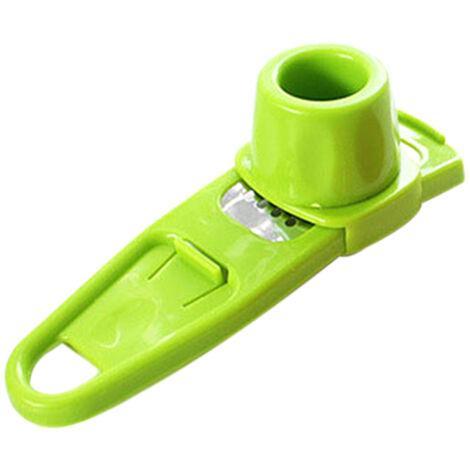 Multifuncionales Herramientas jengibre ajo Molienda Rallador Grinder Gadgets de cocina, Verde