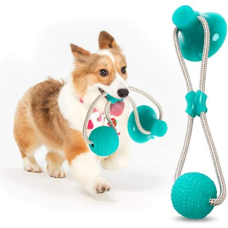 Multifunction Pet Molar Bite Toy, Multifunctional Pet Bite Toy, Toy Pet Dog Toy Interactive Pet Chew Toys (Green)