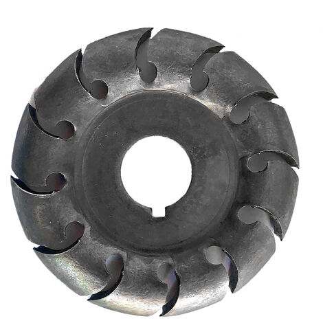 """main image of """"Multifunctional High Hardness Wood Carving Disc 12 Teeth 16mm Bore Hole 65mm Diameter Wood Shaping Angle Grinder Woodworking Tool"""""""