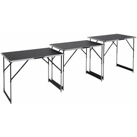 Multifunktionstisch 3-teilig, je Tisch 100 x 60 cm