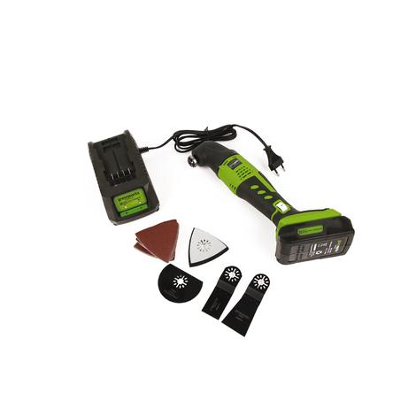 Multiherramienta a batería Greenworks con maletín incluido G24MTK2