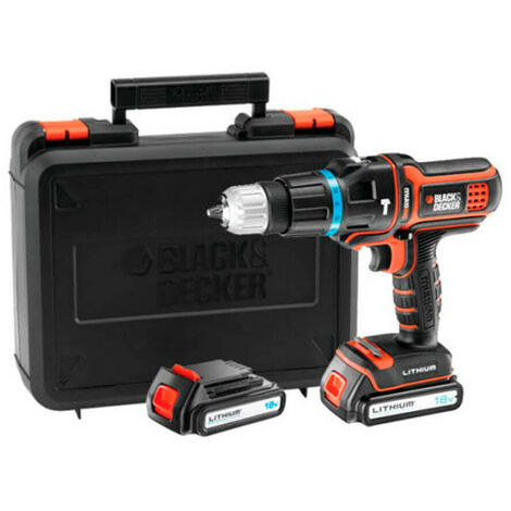 Multiherramienta multievo Black&Decker MT188KB 18v 2 bat. con cabezal, taladro percutor y maletin