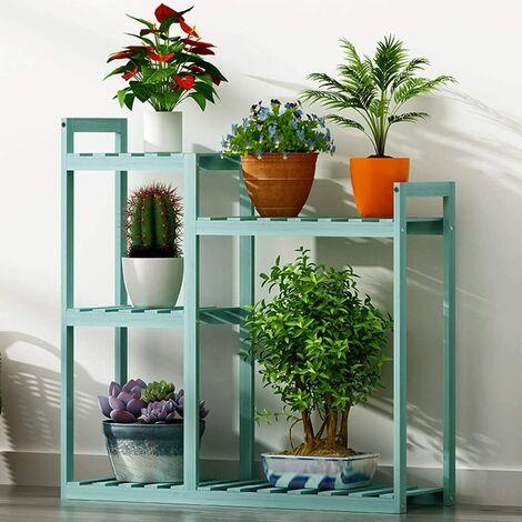 MultiLayer Plant Stand Indoor Outdoor Garden Corner Flower Ladder Rack Mothproof