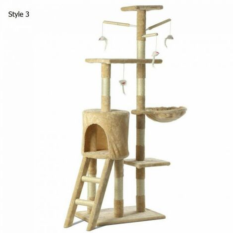 Multilevel Cat Climbing Tree - Style 3