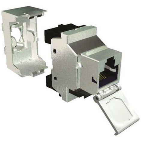 Multimedia Connect MK6FS - 6 CAT 6 conectores blindados 360