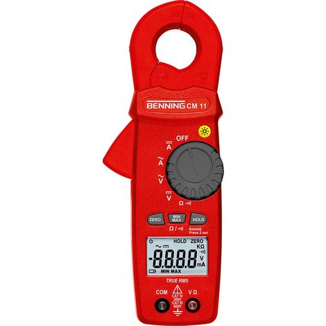 Multimètre-ampèremètre numérique CM 11 BENNING 1 PCS