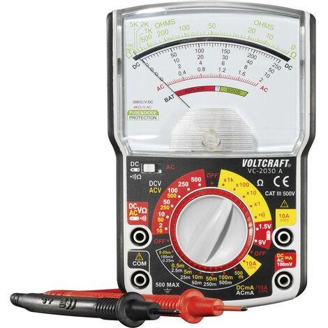 Multimètre analogique VOLTCRAFT VC-2030A CAT III 500 V