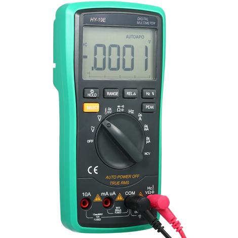 Multimetre, Dc / Ac Tension Compteur, Diode Testeur