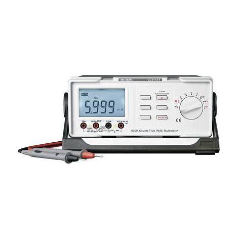 Multimètre de table numérique VOLTCRAFT VC611BT CAT II 600 V Affichage (nombre de points):6000