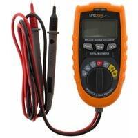 Multimètre digital auto avec détecteur de courant et de métal