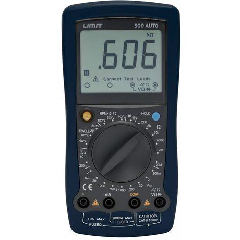 Multimètre digitale automobile CAT II 1000V, 10 A Limit LIMIT500A