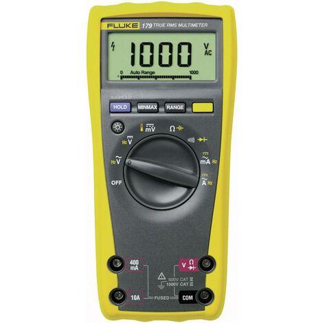 Multimètre Fluke 175 1592901 numérique Etalonnage: en usine (sans certificat) CAT III 1000 V, CAT IV 600 V Affichage (nombre de points): 6000 1 pc(s