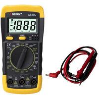 Multimetre Lcd Numerique, Multimetre Testeur Cc
