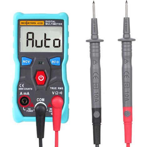Multimetre Numerique Automatique Richmeters Rm403B