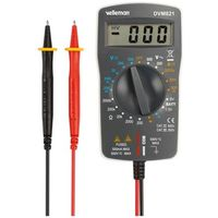 Multimetre numerique - cat ii 500 v / cat iii 300 v - 1999 points