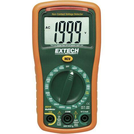 Multimètre numérique Extech EX310 CAT III 600 V Affichage (nombre de points):2000