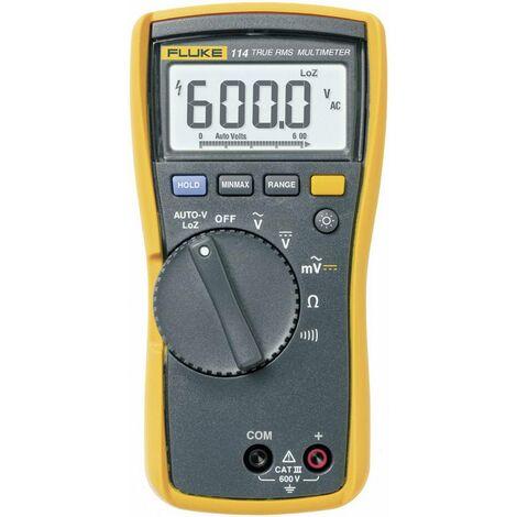 Multimètre numérique Fluke 114 CAT III 600 V Affichage (nombre de points):6000 Q55478