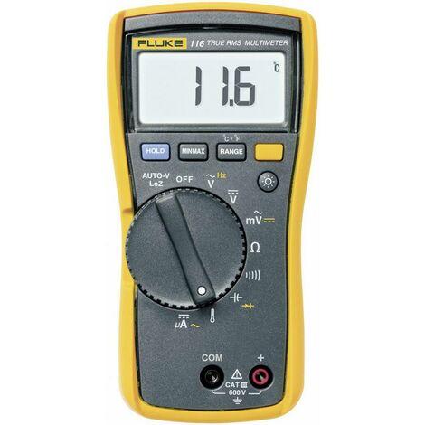 Multimètre numérique Fluke 116 CAT III 600 V Affichage (nombre de points):6000 Q55425