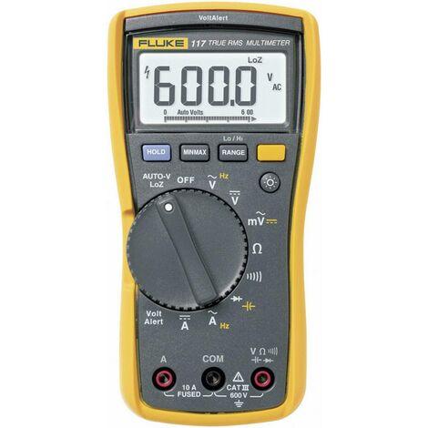 Multimètre numérique Fluke 117 CAT III 600 V Affichage (nombre de points):6000 Q55418