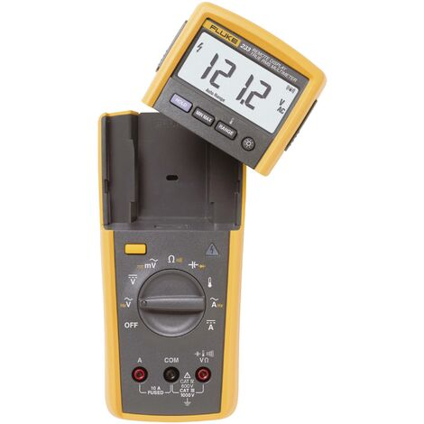 Multimètre numérique Fluke 233 écran sans fil CAT III 1000 V, CAT IV 600 V Affichage (nombre de points):6000 Q52922