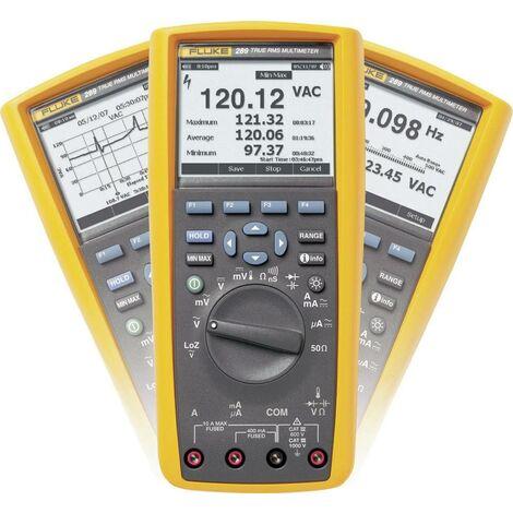 Multimètre numérique Fluke 289/EUR écran graphique, enregistreur de données CAT III 1000 V, CAT IV 600 V Affichage (nombre de points):50000 Q51288
