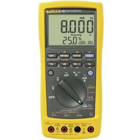 Multimètre numérique Fluke 789/EUR Process CAT III 1000 V, CAT IV 600 V Affichage (nombre de points):30000