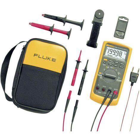 Multimètre numérique Fluke 87V/E2 Kit CAT III 1000 V, CAT IV 600 V Affichage (nombre de points):20000 Q51242