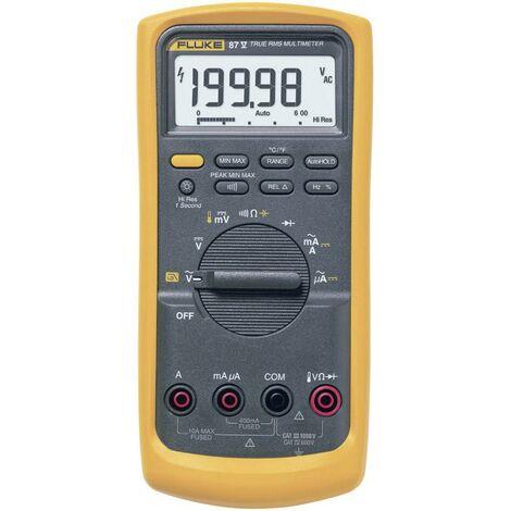 Multimètre numérique Fluke 87V/EUR CAT III 1000 V, CAT IV 600 V Affichage (nombre de points):20000 Q51245