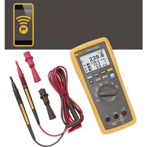 Multimètre numérique Fluke Connect™ FLK-3000 FC sans fil écran graphique, enregistreur de données CAT III 1000 V, CAT IV 600 V Affichage (nombre A744431