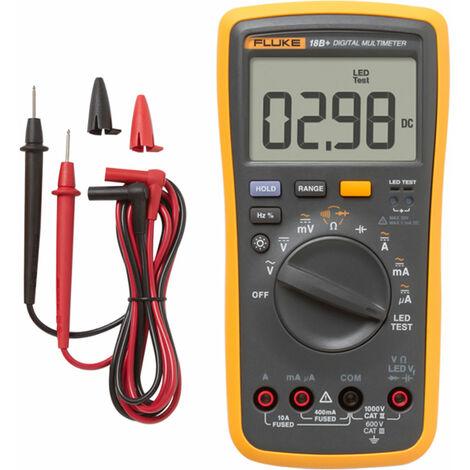 Multimetre numerique FLUKE F18B + livresans batterie